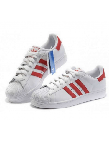 Adidas Superstar Rojas