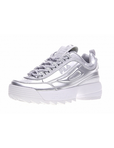 Fila Disruptor Low Plata