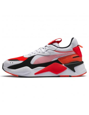 Puma RS-X color blanco -rojo